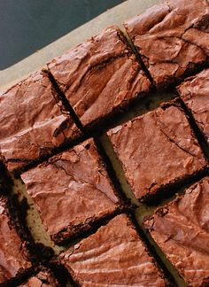 Chewy Brownie Recipe From Scratch.Chewy Brownies Dairy Free Life Made Simple. Easy Brownies From Scratch Sugar Spun Run. Best Homemade Brownies From Scratch The Cookie Rookie. Home and Family Best Brownie Recipe, Brownie Recipes, Cookie Recipes, Vegan Brownie, Köstliche Desserts, Delicious Desserts, Dessert Recipes, Yummy Food, Brownies From Scratch