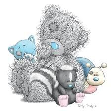 tatty teddy bear friends