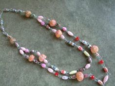 Handmade by Mimi Pinto Paper Bead Necklace with S Clasp/Easy hook Clasp MIMI PINTO, chic elegance chunky bead jewellery http://www.amazon.co.uk/dp/B00B90CVIE/ref=cm_sw_r_pi_dp_ZiHQsb1EZGW9D