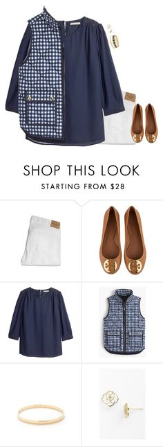 """Evelyn! "" by meljordrum ❤ liked on Polyvore featuring Abercrombie & Fitch, Tory Burch, H&M, J.Crew, Kate Spade, Kendra Scott, women's clothing, women, female and woman"