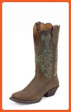 Justin Boots Stampede Collection L2552 Women's Boot 11 B(M) US Brown - Boots for women (*Amazon Partner-Link)