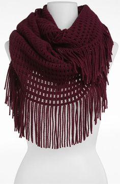 Hinge® Tassel Scarf from Nordstrom Fall Outfits, Summer Outfits, Cute Outfits, Summer Clothes, Cute Scarfs, Scarf Hat, Fringe Scarf, Crochet Scarves, Scarf Styles