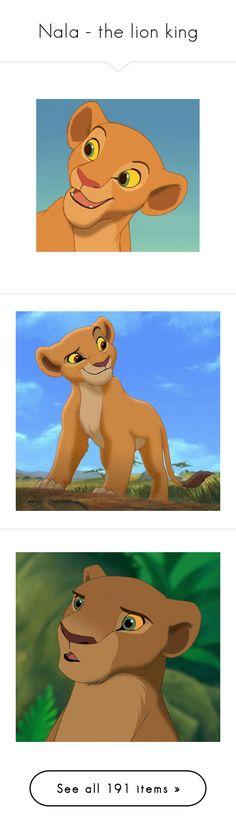"""Nala - the lion king"" by bambolinadicarta-1 ❤ liked on Polyvore featuring disney, Nala, thelionking, icons, lion king, the lion king, icon pictures, disney icons, blue pictures and disney pictures"