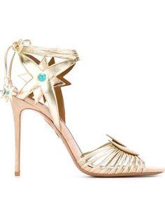 Aquazzura '105 x Poppy Delevigne' sandals