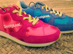 Desigual Trainers for Women, very versatile and cosmopolite. They offer a young and fun style, they have been designed for the most urbanite women. The sole in E.V.A foam of low profile provides lightness and a quick response when walking.