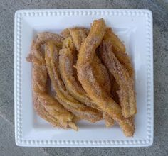 Homemade Churros!!!!!!!!!!!  mmmmmmm, I had these in Detroit!!!  They are Yummy!!!!!