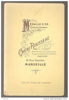 CHÉRI ROUSSEAU - Marseille - également à St-Etienne (format CAB)