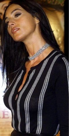 Monica Bellucci Black & White, sexy without even trying (Very Italian)
