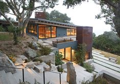 Santa Lucia Mountain House designed by Feldman Architecture - http://www.feldmanarchitecture.com/