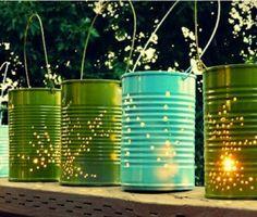 Cómo reciclar  latas de conservas