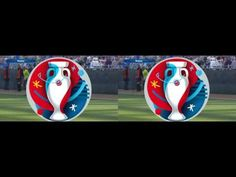 EURO 2016 in 3D Gameplay PES 2016 Full Side by Side YT3D::