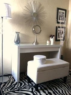 My New Makeup Room ! Feat. Ikea Malm Dressing Table | LUUUX - Love the simplicity
