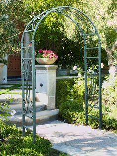 Rose Trellis: Jardin Rose Arch | Gardener's Supply