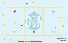 Hoepeljagerbal - Een leuke afsluiting van een les als je hoepels gebruikt hebt.