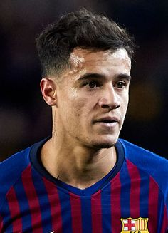 Philippe Coutinho of FC Barcelona looks on during the La Liga match between FC Barcelona and SD Eibar at Camp Nou on January 2019 in Barcelona, Spain. Get premium, high resolution news photos at Getty Images January 13, Sports Images, Camp Nou, Barcelona Spain, Sd, That Look, Hairstyle, Football, Instagram
