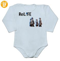 Characters Going To High School Artwork Baby Long Sleeve Romper Bodysuit XX-Large - Baby bodys baby einteiler baby stampler (*Partner-Link)