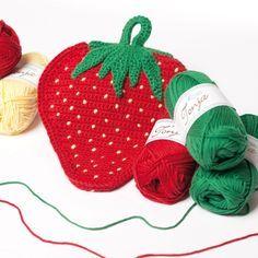 Erdbeer-Topflappen