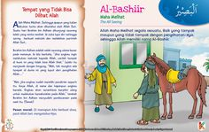 Kisah Asma'ul Husna Al-Bashiir Kids Story Books, Stories For Kids, Asma Allah, Way Of Life, Islamic Quotes, Kids And Parenting, Muslim, Education, Crafts
