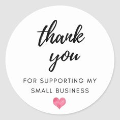 Small Business Quotes, Small Business Cards, Business Thank You Cards, Business Stickers, Support Small Business, Business Logo, Business Stamps, Logo Online Shop, Thank You For Support