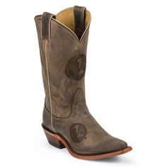 Nocona Women's Florida State University College Boots