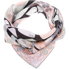EMILIO PUCCI printed scarf  ❤ liked on Polyvore