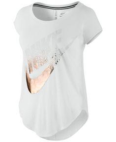Nike Metallic Logo T-Shirt