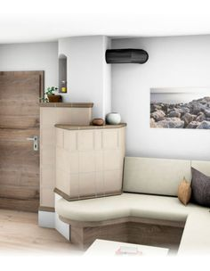 Landhaus-Kachelofen Floor Chair, Bungalow, Couch, Flooring, Furniture, Home Decor, Houses, Tiling, Tile