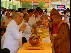 Cambodia - Norodom Sihanouk King's Ashes Paraded | Royal Palace 12 July ...