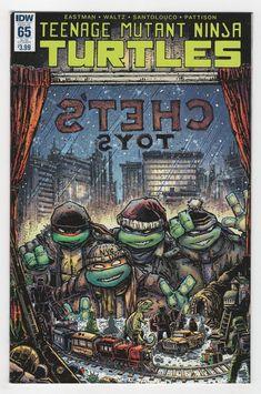 Teenage Mutant Ninja Turtles #65 Kevin Eastman Variant Cover (2016)