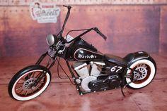 Miniature métal moto vintage Choppersur Retro Wheels http://www.retrowheels.fr/miniatures-2-roues/208-modele-reduit-metal.html