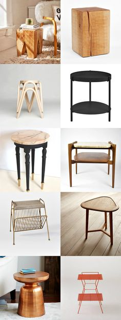 Blissful Corners: Side Tables || Bliss