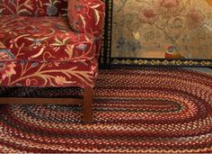 Authentic rich rugs | Braided Rug Company | Stand K28