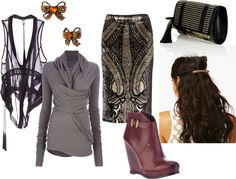 Jesse's Big Night: Gala Style by rebecca-jane-stokes, via Polyvore