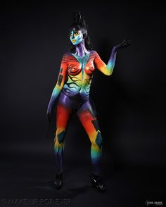 Body Painting Academy Final 2011/12 by Audrey D