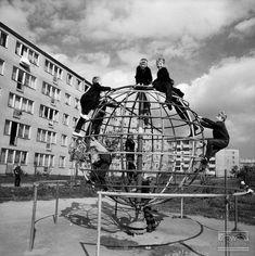 Nowa Huta - os. XX-lecia PRL (obecnie os. Albertyńskie), plac zabaw