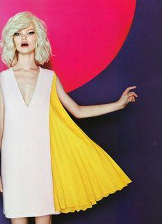 Kelly Mittendorf  |  Vogue Ukraine May 2013  |  By Dima Honcharov