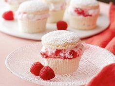 Get this all-star, easy-to-follow Raspberry Cream Cupcakes recipe from Giada De Laurentiis