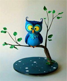 Awesome Owl Cake Art