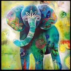 Tracy Verdugo. 2014. Elephant Love. sold
