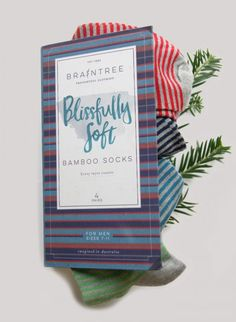 Looking for something last minute to get your brother or that guy you got for secret santa? We got you.  #AdventGoods Day 19 is the perfect gift set of men's socks from @BtreeClothing  Everybody know socks are the go to male gift so why not make them sustainable? Get this pack of 4 stripy socks for £19.90 and I'm sure he'll be grateful. They're made from bamboo and organic cotton and even come with a cute box. Buy them here…