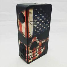 This American skull box