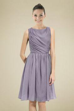 modest-lavender-chiffon-bridesmaid-dress-with-scoop-neckline