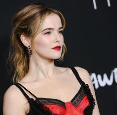 Zoey Deutch at the LA premiere of 'Before I Fall'