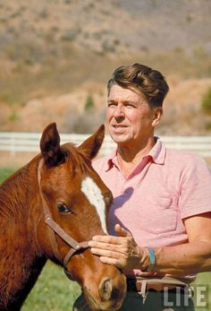 Reagan- my favorite and role model: Compassionate Conservative!Ronald Reagan- my favorite and role model: Compassionate Conservative! Presidents Wives, Greatest Presidents, American Presidents, 40th President, President Ronald Reagan, Us History, American History, Nancy Reagan, People Of Interest