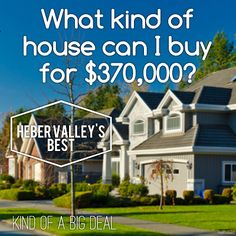 kind of a big deal:   Would you like to know what $370,000 worth of ho...