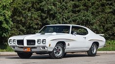 1970 Pontiac GTO Judge 400/366 HP, 4-Speed, 19 Factory Options presented as lot S101 at Schaumburg, IL