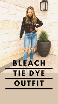 Tie Dye Outfits, Cute Outfits, Bleach Tie Dye, Protective Gloves, Tie Dye Sweatshirt, Tie Dye Patterns, Trendy Tops, Tie Dyed, Different Fabrics