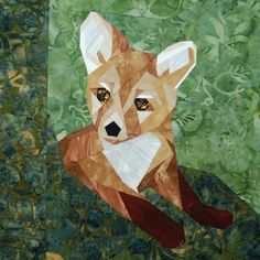 silver linings quilting pattern wee fox