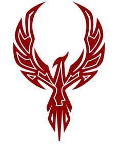 Stylized Skyheld Phoenix by Koloszrodos on DeviantArt Kunst Tattoos, Bild Tattoos, New Tattoos, Body Art Tattoos, Tattoo Art, Tatoos, Phoenix Tattoo Design, Tribal Phoenix Tattoo, Phoenix Tattoos