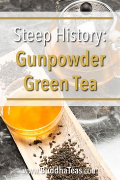 Gunpowder green tea has been popular for centuries for its smooth, honey-like taste. So how did it get such a harsh name? Discover the history of gunpowder green tea here! Tea Facts, Tea Blog, Tea Recipes, Teas, Health And Wellness, Buddha, Tea Cups, Honey, Smooth